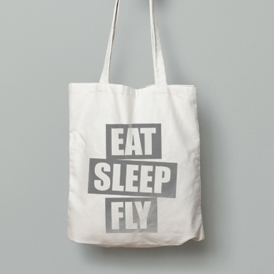 SACOSA-URBANA-EAT-SLEEP-FLY-BLACK