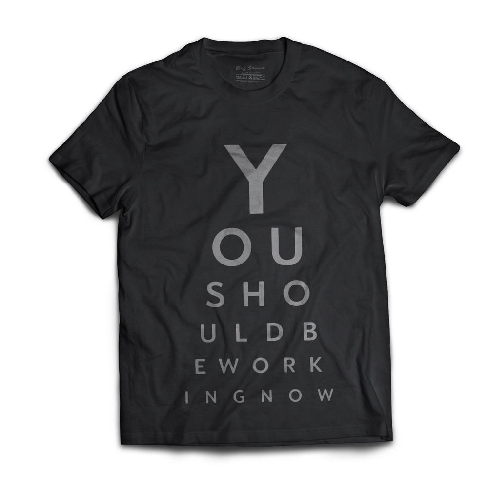 TRICOU-YOU-SHOUD-WORKING