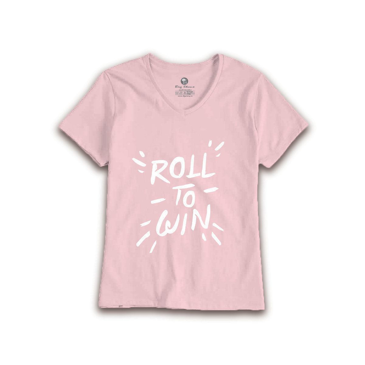 TRICOU-FEMEI-ROLL-TO-WIN
